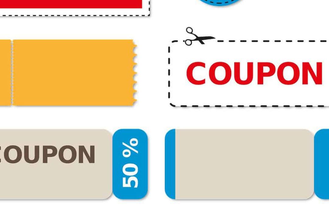 Lassen Sie Werbebriefe drucken mit Rabattcoupons