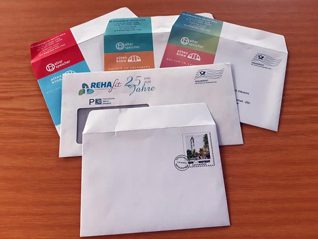 Briefumschläge drucken und kuvertieren