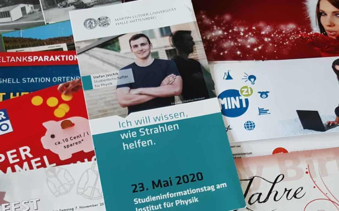 Postkarten Mailings: Persönlich und direkt an Stammkunden